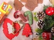 Рецепта Коледни сладки със захарен фондан
